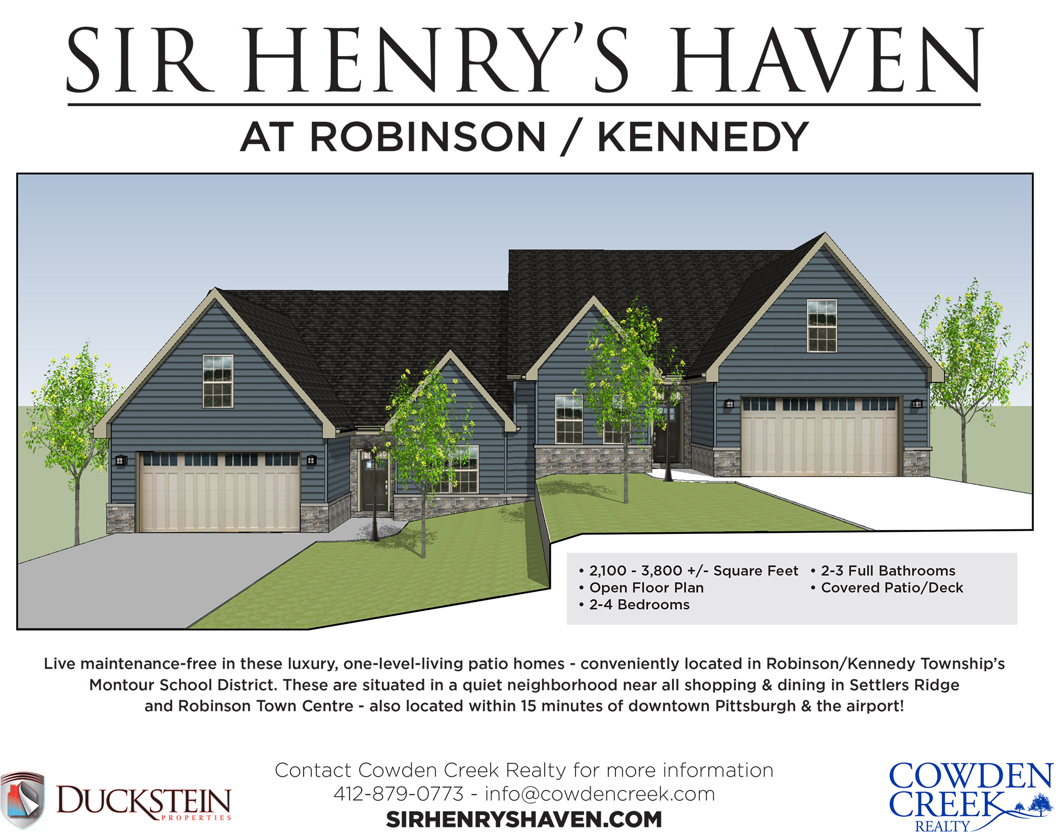 Sir Henry's Haven FLYER-1